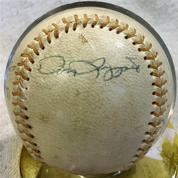 1969 PITTSBURGH PIRATES SIGNED BASEBALL w/CLEMENTE & JSA LOA