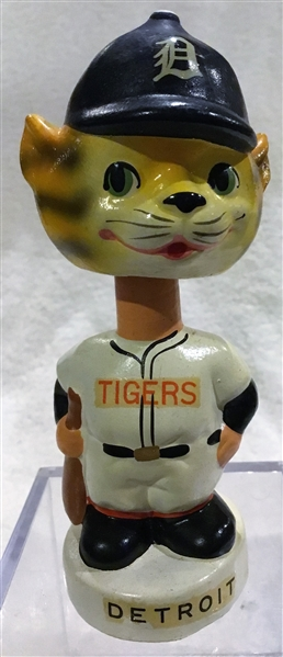 60's DETROIT TIGERS mini BOBBING HEAD