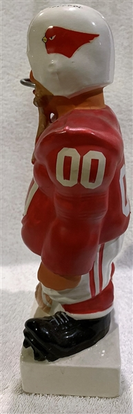 60's ST. LOUIS CARDINALS LARGE STANDING LINEMAN KAIL STATUE