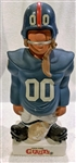 60s NEW YORK GIANTS LARGE STANDING LINEMAN KAIL STATUE
