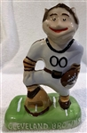 50s CLEVELAND BROWNS MASCOT BANK