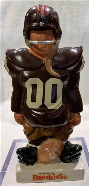 60's WASHINGTON REDSKINS KAIL STATUE - SMALL STANDING LINEMAN