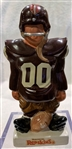 60s WASHINGTON REDSKINS KAIL STATUE - SMALL STANDING LINEMAN