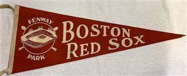 50s BOSTON RED SOX PENNANT