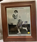 DAN MARINO FRAMED & SIGNED PHOTO