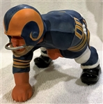 60s LOS ANGELES RAMS KAIL STATUE - LARGE DOWN LINEMAN