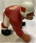 60s ST. LOUIS CARDINALS KAIL STATUE - LARGE DOWN LINEMAN