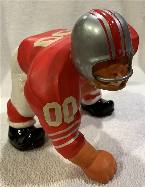 60's SAN FRANCISCO FORTY-NINERS KAIL STATUE - LARGE DOWN LINEMAN