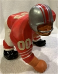 60s SAN FRANCISCO FORTY-NINERS KAIL STATUE - LARGE DOWN LINEMAN