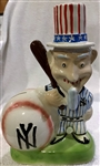 "50s NEW YORK YANKEES ""GIBBS-CONNER"" MASCOT BANK"