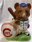 "50s CHICAGO CUBS ""GIBBS-CONNER"" MASCOT BANK"