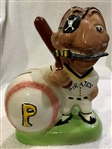 "50s PITTSBURGH PIRATES ""GIBBS-CONNER"" MASCOT BANK"