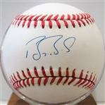 BARRY BONDS SIGNED BALL w/PSA & SGC