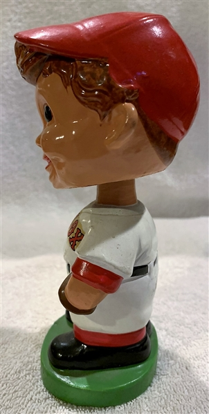 60's BOSTON RED SOX GREEN BASE BOBBING HEAD