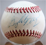 GAYLORD PERRY SIGNED BASEBALL w/CAS COA