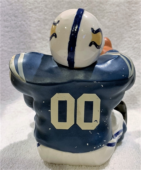 60's BALTIMORE COLTS  KAIL STATUE - LARGE DOWN-LINEMAN