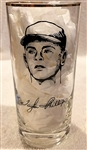 1957 MILWAUKEE BRAVES WORLD CHAMPS PLAYER GLASS-TAYLOR PHILLIPS
