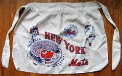 1960s NY MET AND LADY MET APRON