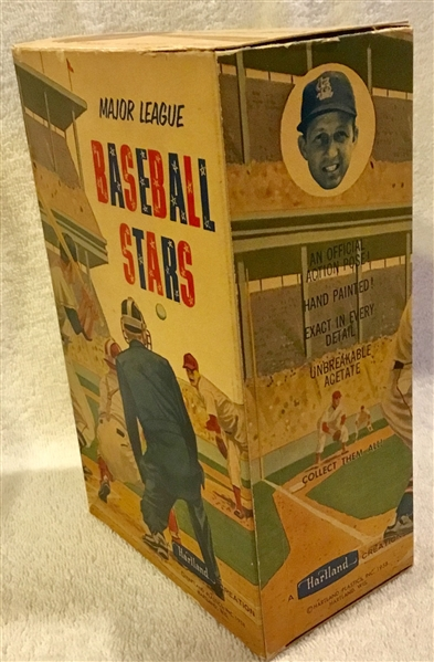 VINTAGE STAN MUSIAL HARTLAND STATUE w/BOX & TAG