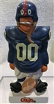 60s NEW YORK GIANTS  KAIL STATUE - SMALL STANDING LINEMAN