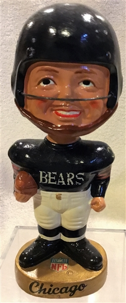 60's CHICAGO BEARS REALISTIC FACE BOBBING HEAD