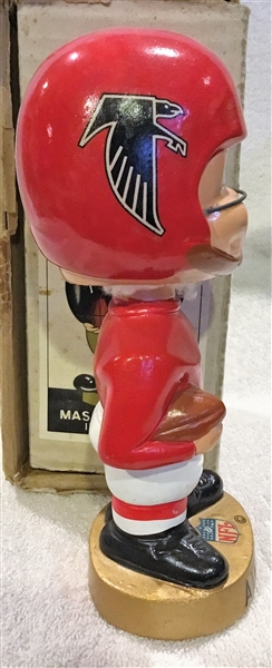 60's ATLANTA FALCONS MERGER SERIES BOBBING HEAD w/BOX