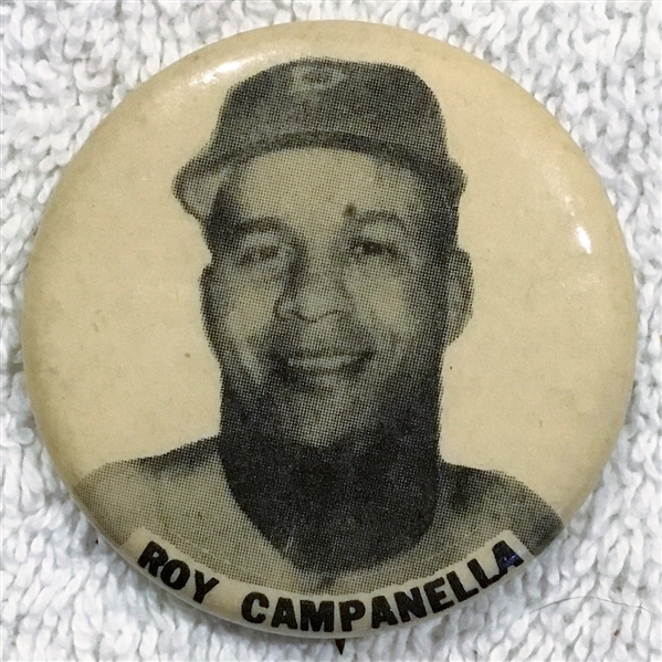 40's/50's ROY CAMPANELLA PM-10 PIN - BROOKLYN DODGERS