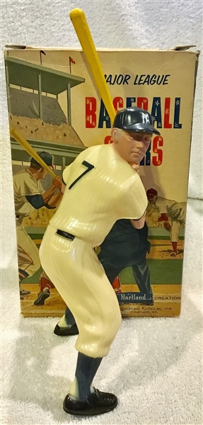 50's/60's MICKEY MANTLE HARTLAND STATUE w/BOX
