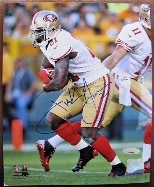 FRANK GORE #21 SIGNED PHOTO /TRISTAR