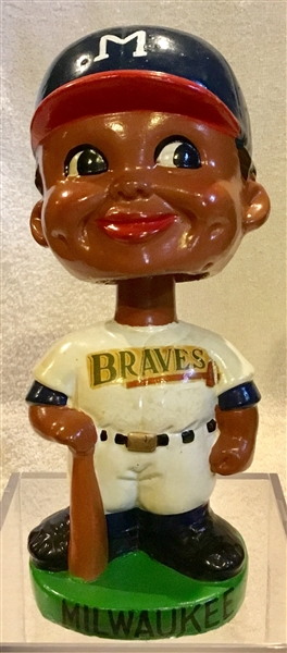 60's MILWAUKEE BRAVES BLACK FACE BOBBING HEAD