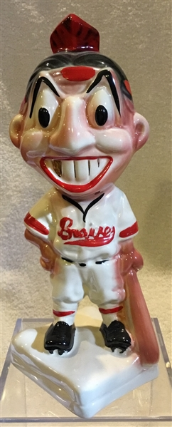 40's/50's BOSTON BRAVES STANFORD POTTERY BANK