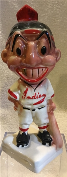 40's/50's CLEVELAND INDIANS STANFORD POTTERY BANK