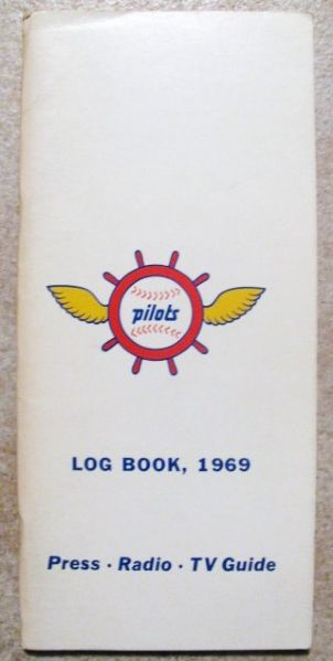1969 SEATTLE PILOTS PRESS RADIO & TV MEDIA GUIDE