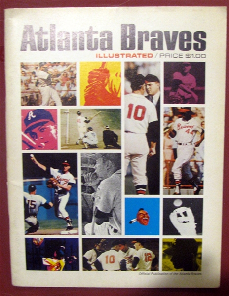 1967 ATLANTA BRAVES YEARBOOK