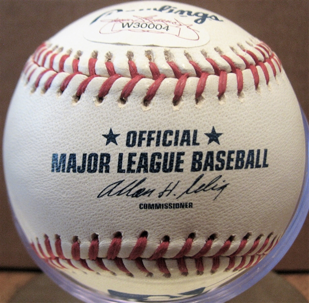GAYLORD PERRY HOF 91 SIGNED BASEBALL w/JSA