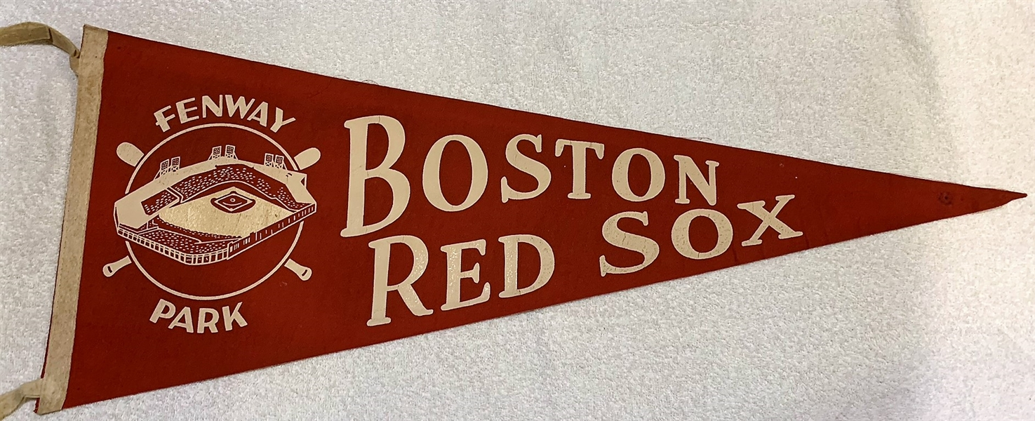 50's BOSTON RED SOX PENNANT