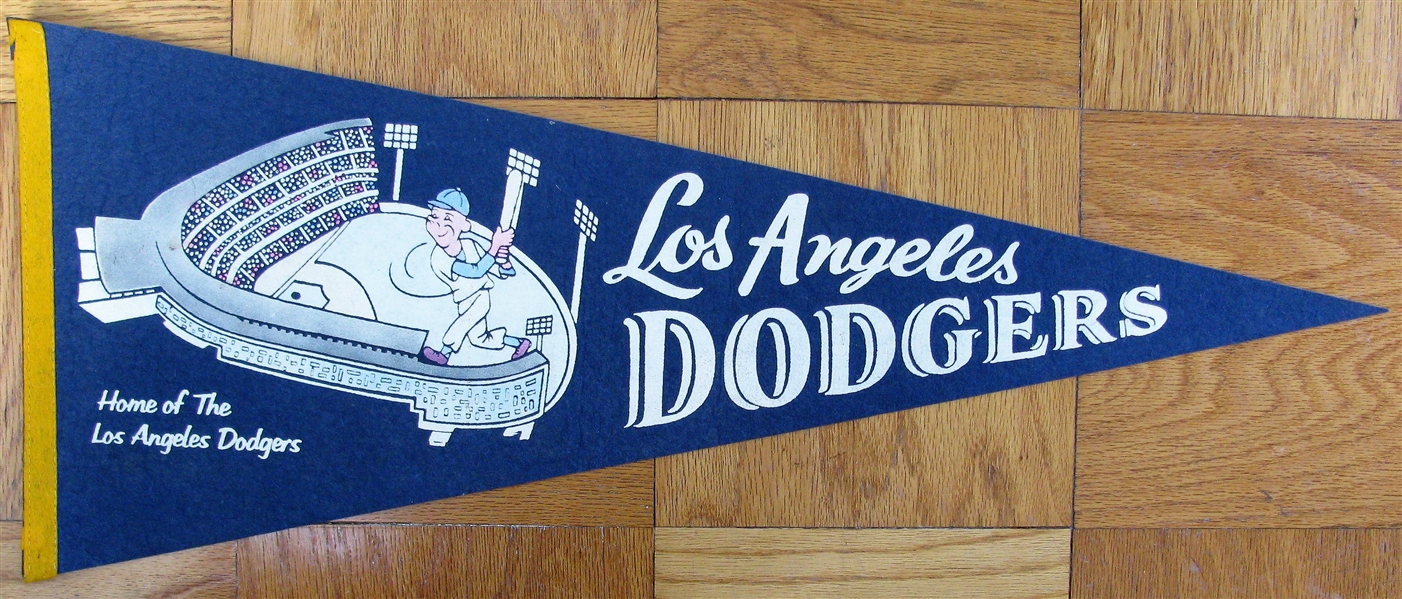 60's LOS ANGELES DODGERS PENNANT