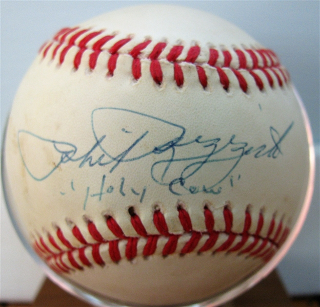 PHIL RIZZUTO HOLY COW SIGNED BASEBALL w/CAS COA