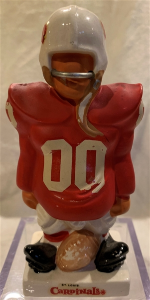 60's ST. LOUIS CARDINALS  KAIL STATUE - SMALL STANDING LINEMAN
