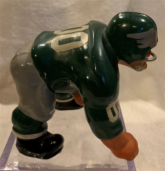 60's PHILADELPHIA EAGLES SMALL DOWN-LINEMAN KAIL STATUE