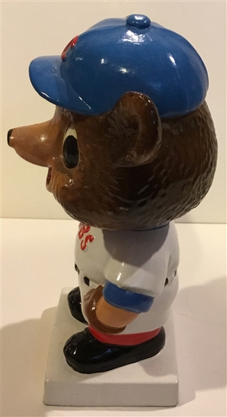 60's CHICAGO CUBS WHITE BASE BOBBING HEAD