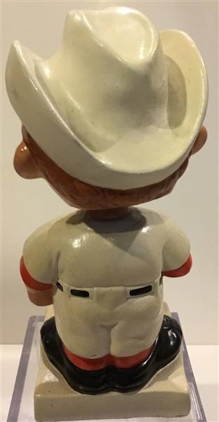 60's HOUSTON COLT 45's WHITE BASE BOBBING HEAD