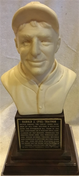 1963 PIE TRAYNOR HALL OF FAME BUST