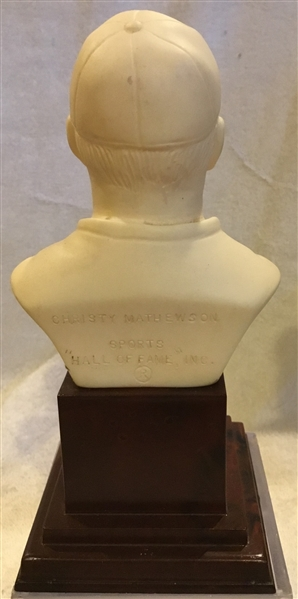1963 CHRISTY MATHEWSON HALL OF FAME BUST