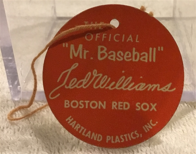 50's/60's TED WILLIAMS HARTLAND TAG