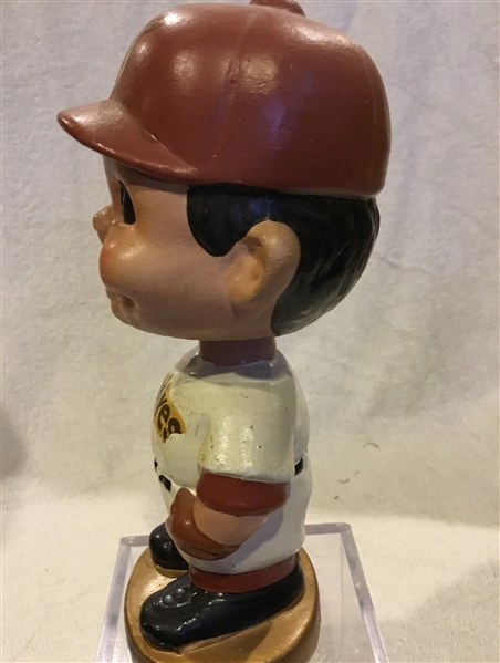 60's SAN DIEGO PADRES GOLD BASE BOBBING HEAD