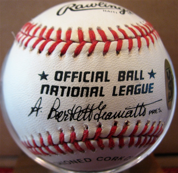 RAY DANDRIDGE / MONTE IRVIN SIGNED BASEBALL w/CAS COA