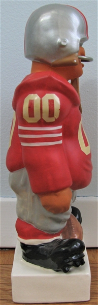 60's SAN FRANCISCO FORTY-NINERS KAIL STANDING LINEMAN- LARGE
