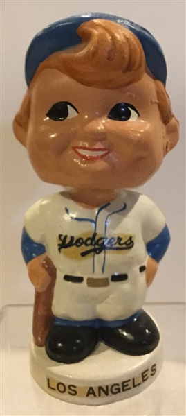 60's LOS ANGELES DODGERS mini BOBBING HEAD