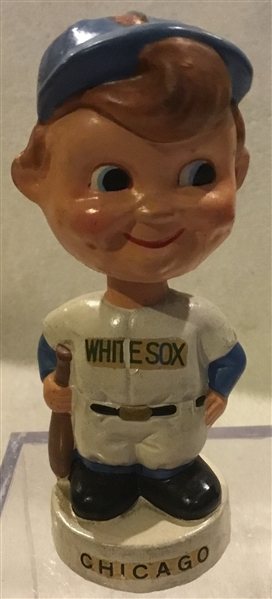 60's CHICAGO WHITE SOX mini BOBBING HEAD